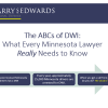 Image of ABCs of DWI poster